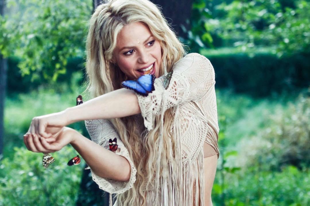 Shakira Instagram username
