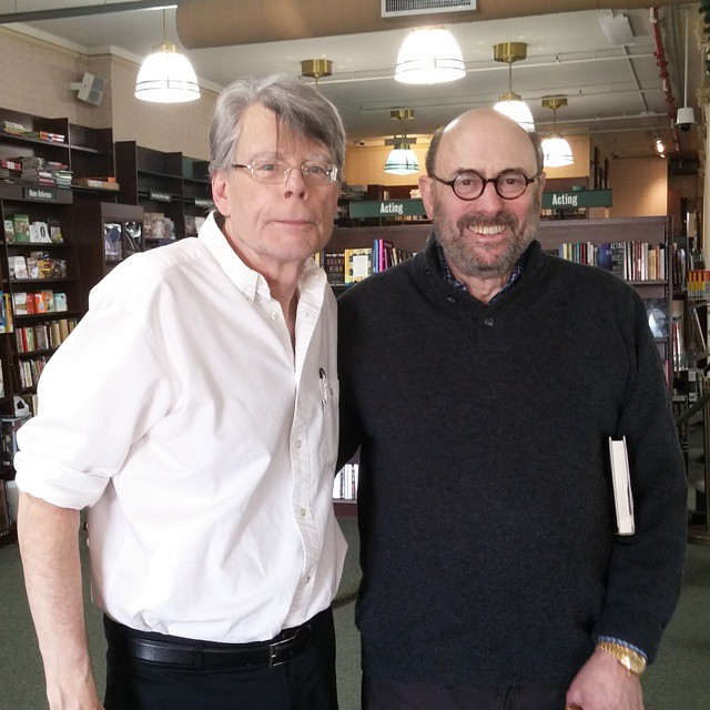 Stephen King Instagram username