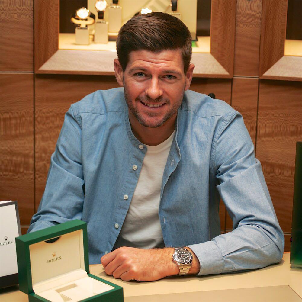 Steven Gerrard Instagram username