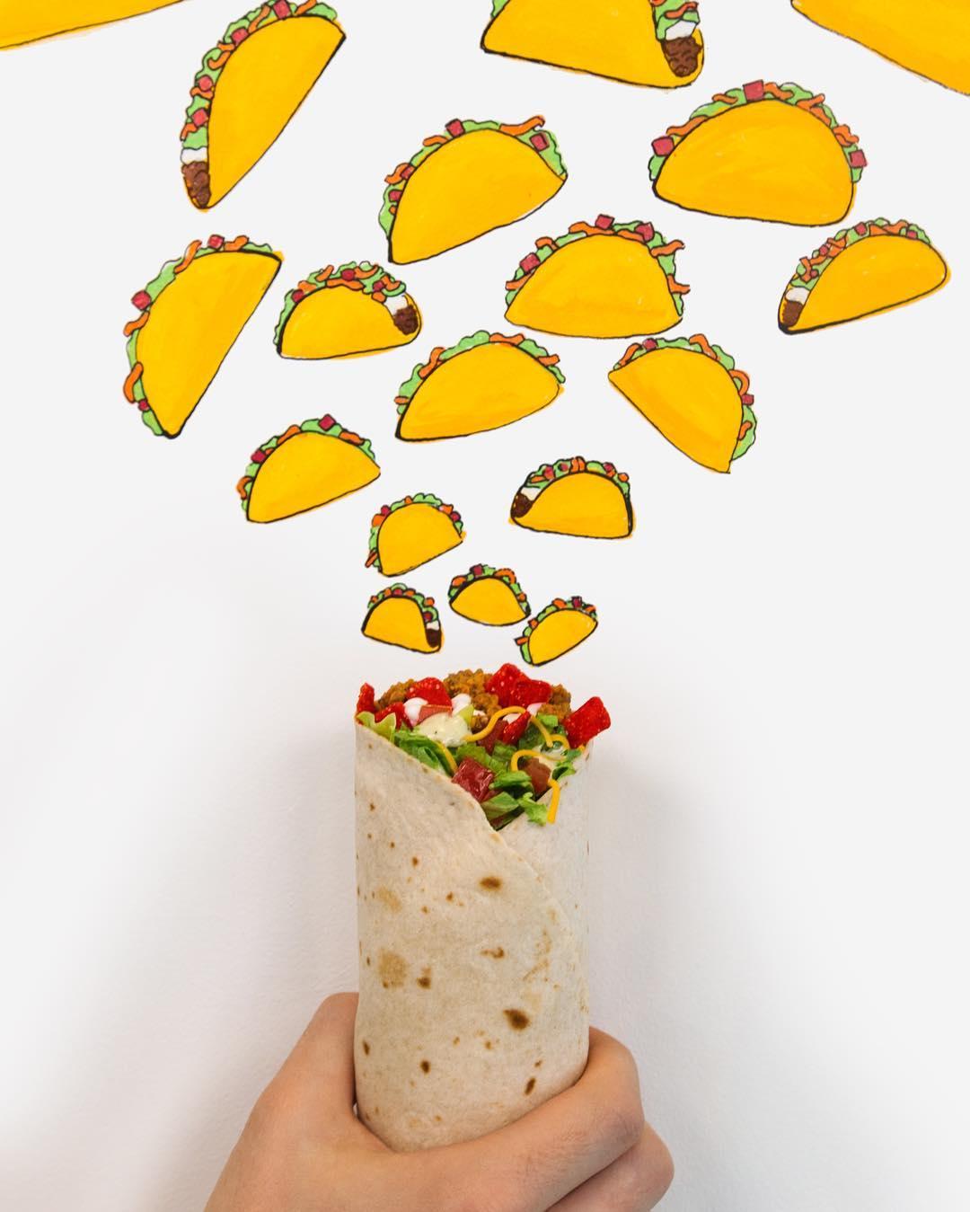 Taco Bell Instagram username