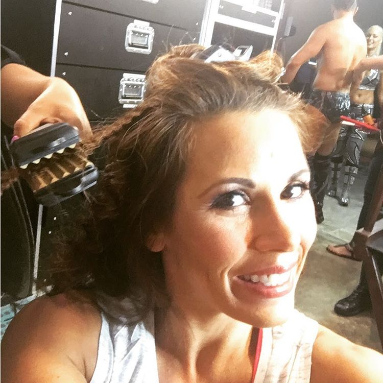 Mickie James Instagram username