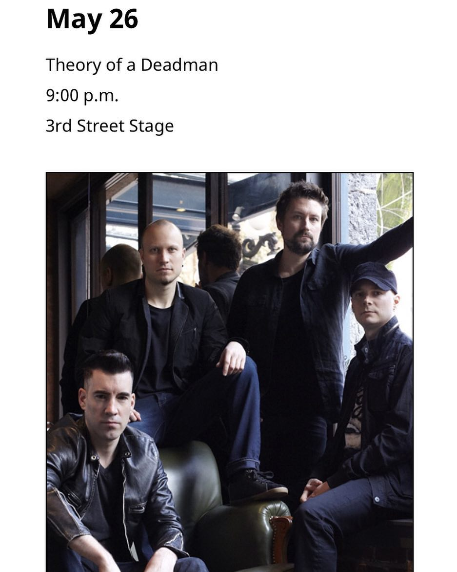Theory Of The Deadman Instagram username