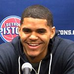 Tobias Harris Instagram username