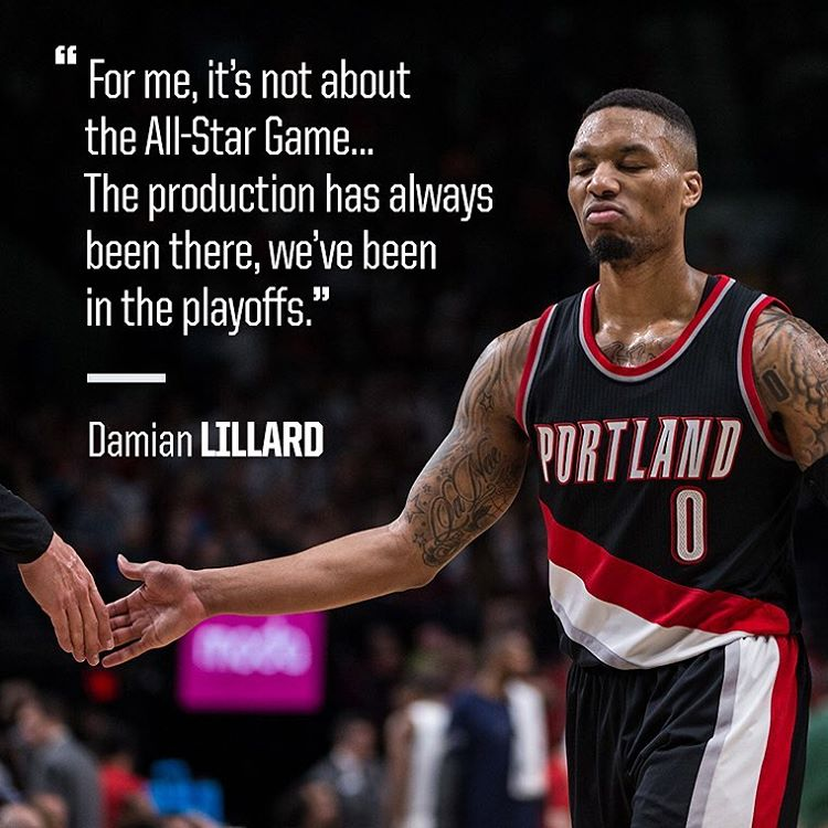 Portland Trailblazers Instagram username
