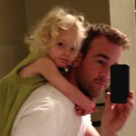James Van Der Beek Instagram username