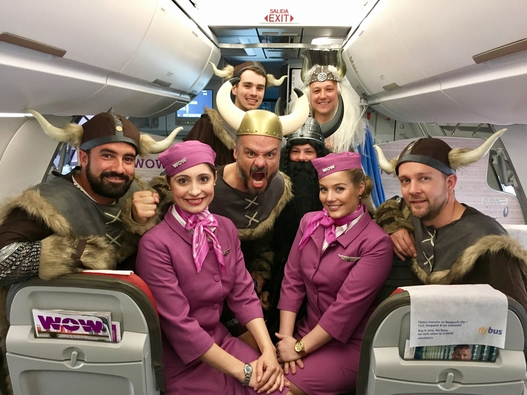 WOW air Instagram username