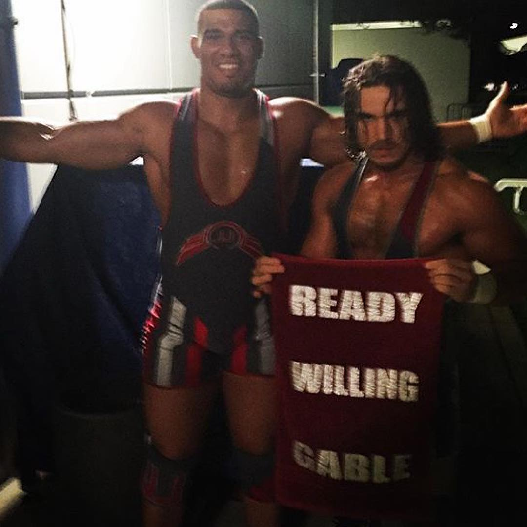 Chad Gable Instagram username