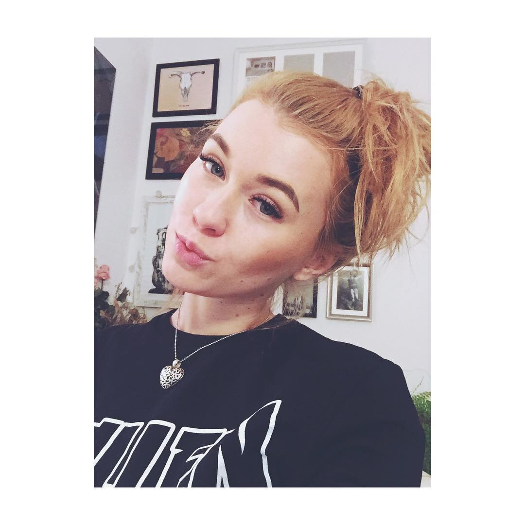 Misha Cross Instagram username